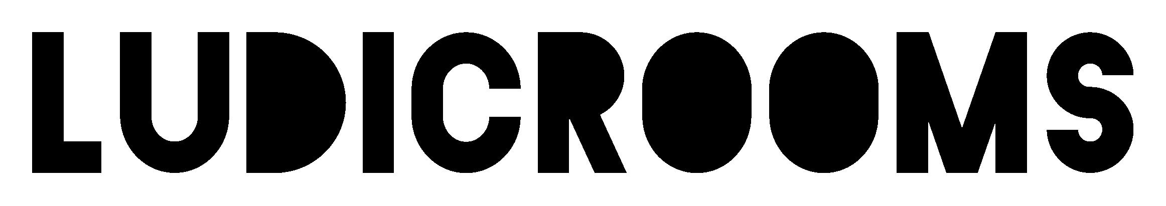 Ludic Rooms logo.