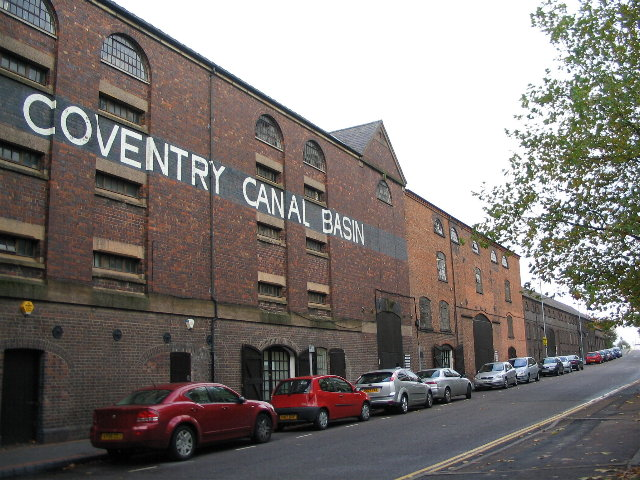 The Coventry Canal Basin Warehouse from the front end.